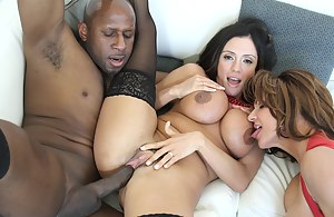 In this hot exclusive scene is me, Deauxma and cock stud Prince