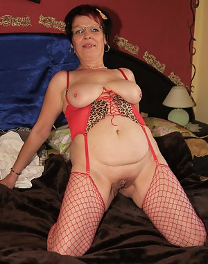 Naughty amateur housewife playing at home