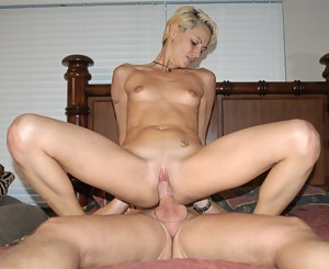 Juicy woman knows what this legendary man needs from her. She is ready to suck his big boner and to let him penetrate her holes deep.