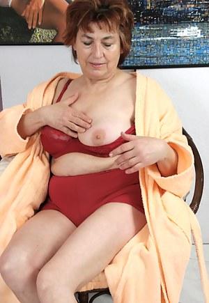 Horny granny still likes young dick