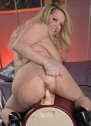 Pantyhose and Sybian