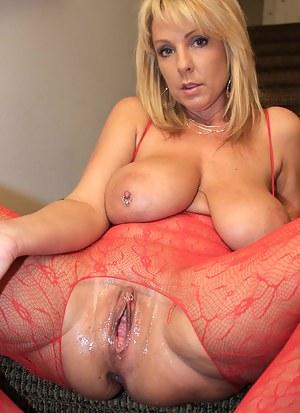 Big Tits and Glass Dildos