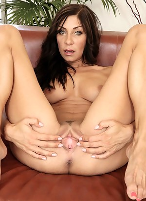 This awesome lady deserves the sweetest sex session ever. She is touching her naked body and enjoying deep penetration with pleasure.