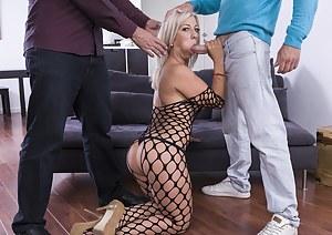 Hot Milf Nikyta Enjoys Hard Anal While Her Husband Watches