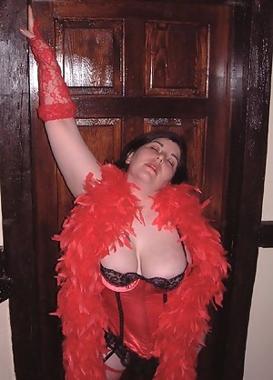 Miss Scarlett a busty mistress from Devon come down to my home in Clacton for some girl-girl fun, we dress up in naughty