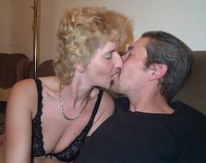 Horny mature couple fucking and sucking like maniacs