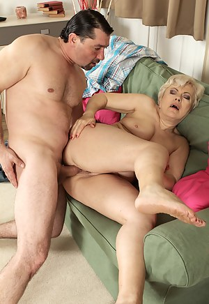 At 58 years old Mimi can still fuck and suck cock like a professional