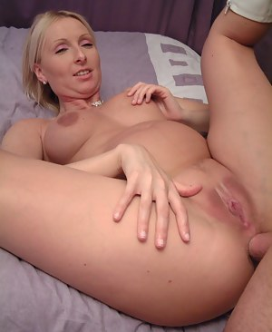 I really love that hard throbbing cock just squelching up into my arsehole she squeals as old Freddie really gives the l