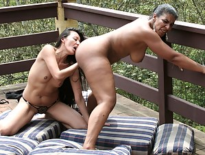 Horny mature fisting loving lesbians