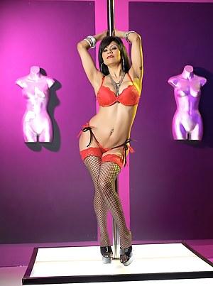 Hot Latina MILF pornstar Gabby Quinteros is performing at