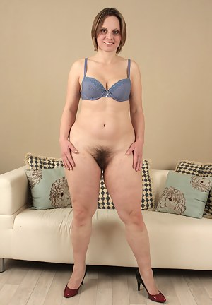 Sexy Saxana just got home from work and cant wait to get out of her clothes, into something more comfortable. Why not have some pussy play on the way?
