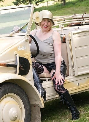 Hi Guys, Heres a set shot at the Help for Heroes Charity Photoshoot in July, I found a very well restored German WW2 Jee