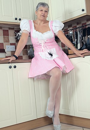 Hi all you horny guys out there. Here I am all sweetly dressed as Little Miss Muffet. Check out these pics, maybe not so
