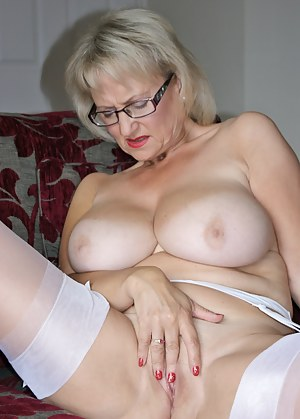 How do you like this dirty look virgin white lingerie and white nylon stockings, and then we have the killer red heels t