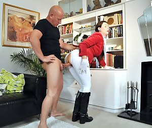 She rides horses but loves to ride a hard cock even more