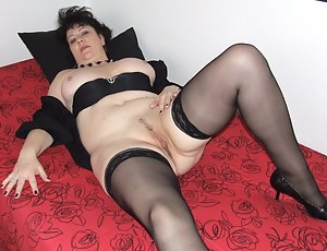 Horny wife poses naughty for us