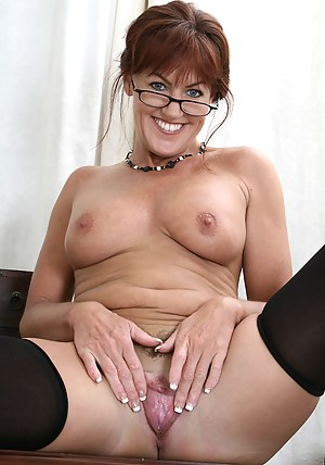 Office MILF Shauna from AllOver30 shows off her perfect body