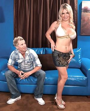 Busty Blondes Get More Cum