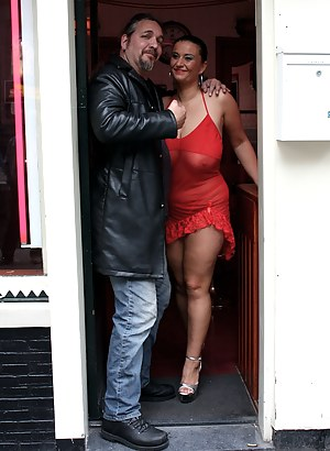 Amsterdam hooker with massive tits pleasing a tourist cock