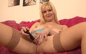 Big breasted mature slut going wicked and wild