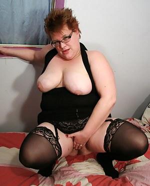 big lady with wet snatch