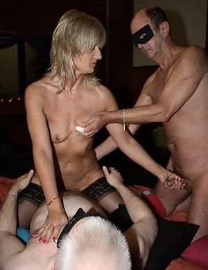 Sexy English pornstar babe Jessica Lo enjoys a gangbang party again! This time she's joined by a sexy blonde milf called Harley. Together these swinging cock-lovers get banged out and jizzed on good and proper!